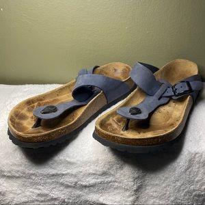 Birkenstock Betula Thong Sandals Buckle Slip ons 8